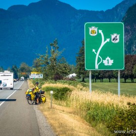 Prepping for the next leg … Vancouver, Canada to Jasper, Canada